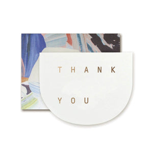 THANK YOU ROUND CARD