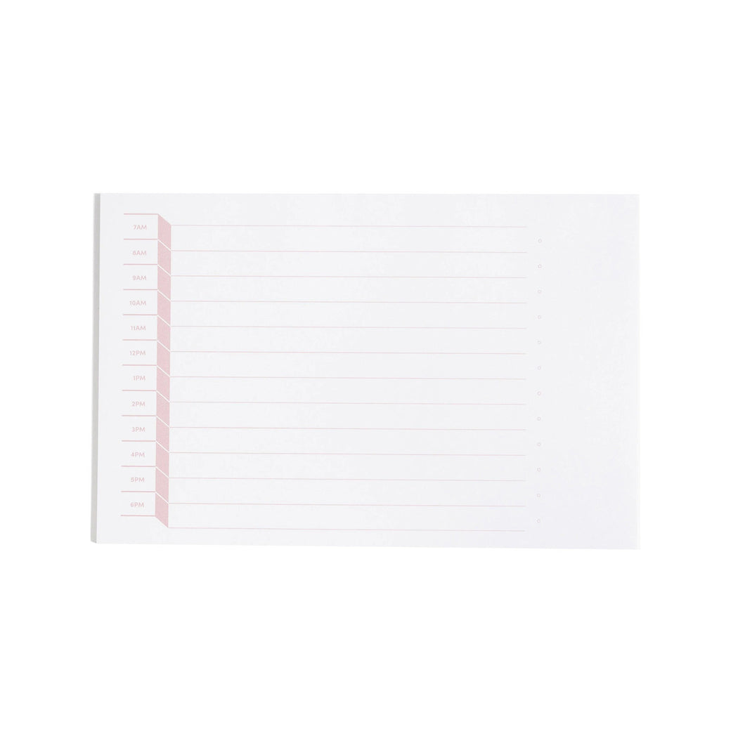 DAILY TIME NOTEPAD
