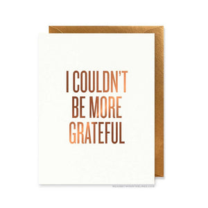 MORE GRATEFUL CARD