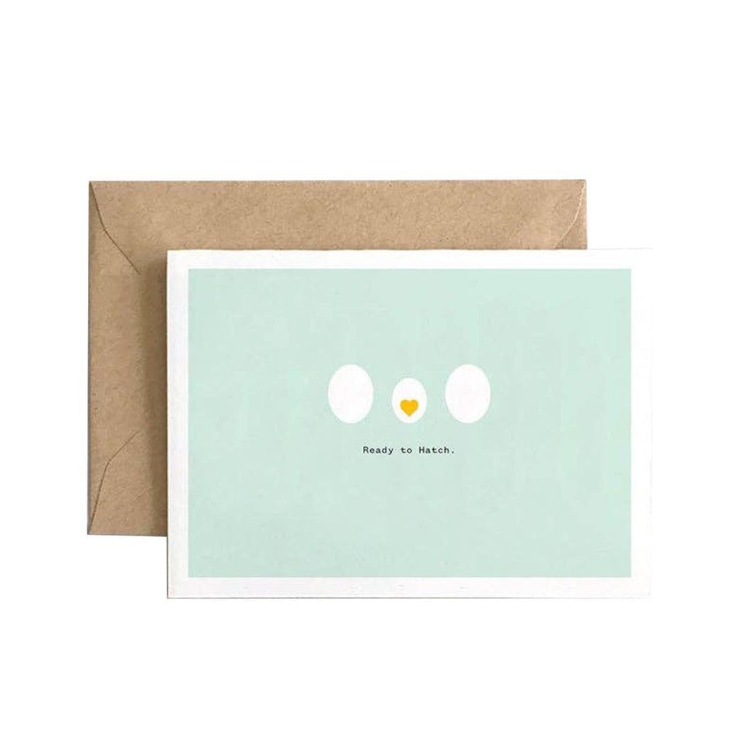 READY TO HATCH CARD