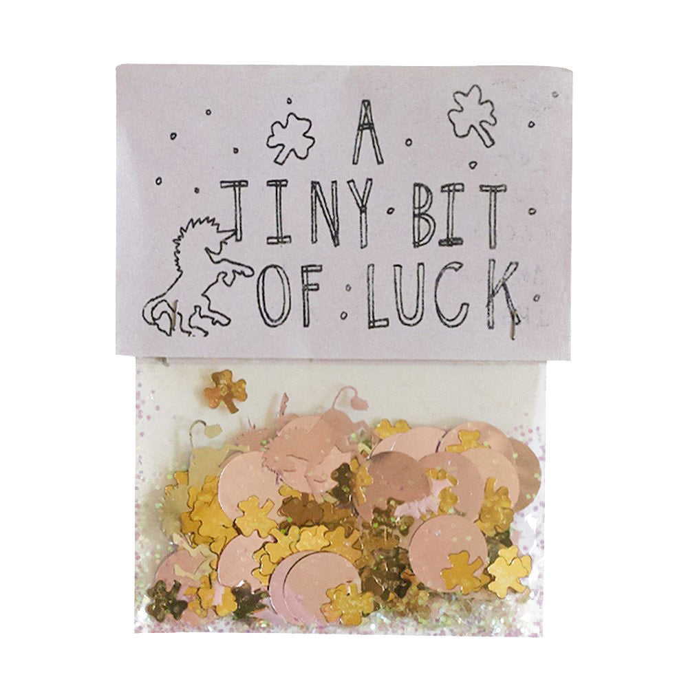 TINY BIT OF LUCK CONFETTI