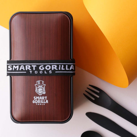 Smart Gorilla Tools - Bento Box Walnussbaum