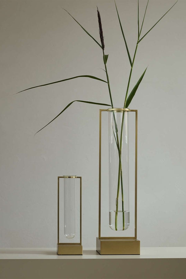The small and large Tate Vases by 101 Copenhagen pictured side-by-side - Mette Collections Australia (4515120349283)