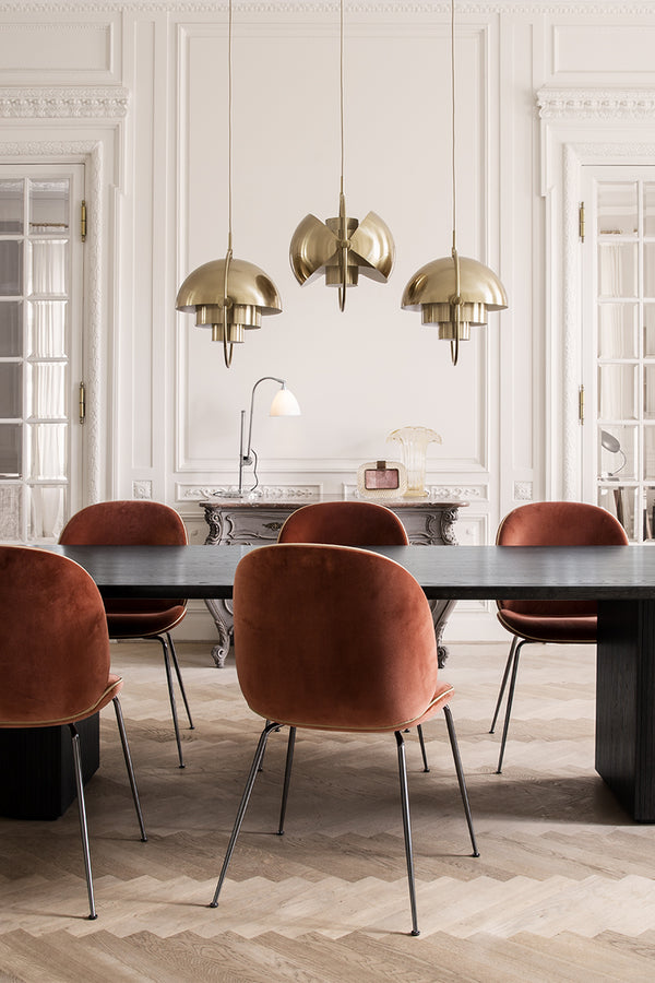 Gubi – Brass Multi-Lite Pendant - Mette Collections Australia (4575123669091)