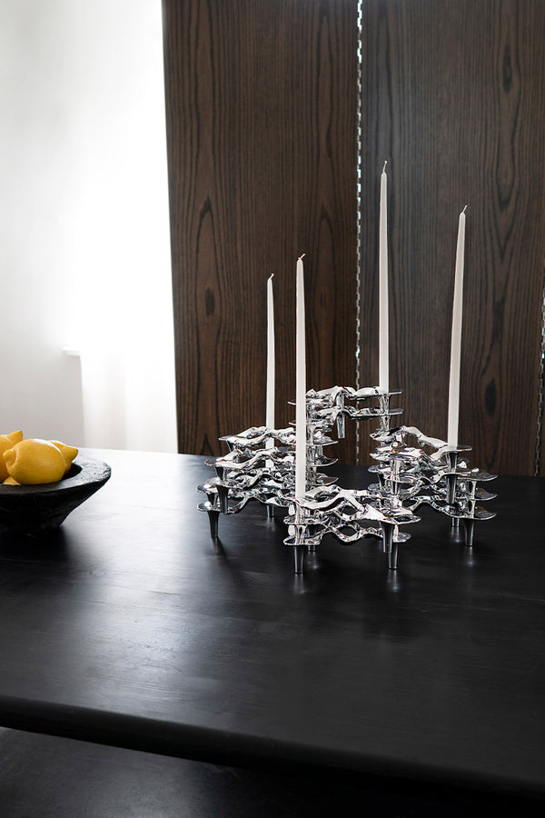 Ostrea Fan Candleholder collection by Hein Studio - Mette Collections Australia (4498636505187)