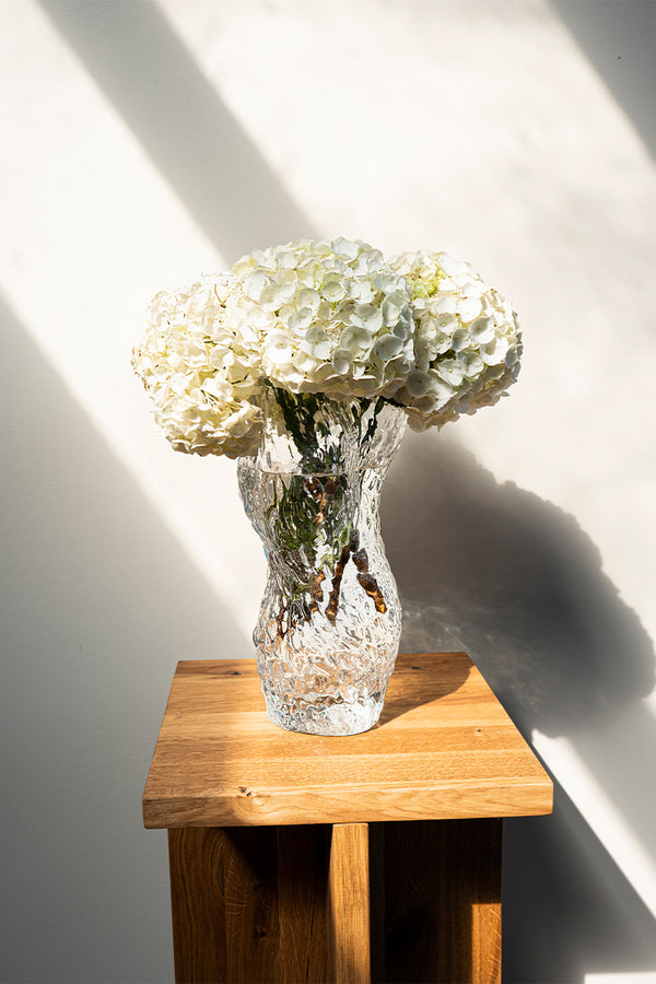 Hein Studio Ostrea Rock Vase in display setting - Mette Collections Australia (4429630210147)