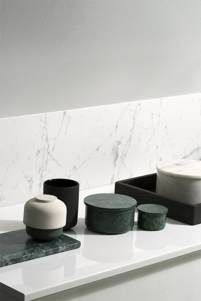 Louise Roe – Gilbert Marble Plate  - Mette Collections Australia (4525456687203)