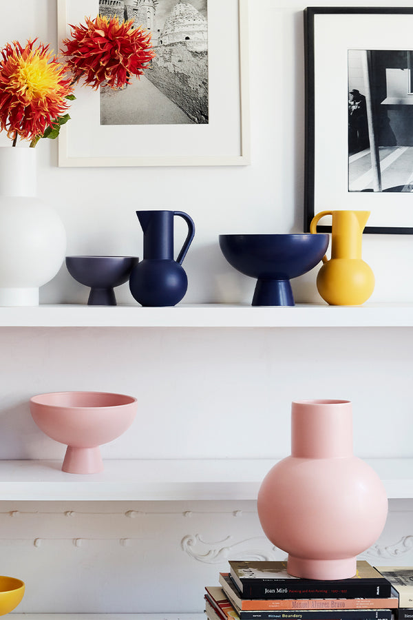 Raawii Strøm jug on display with other pieces from the range  - Mette Collections Australia (4530705825891)