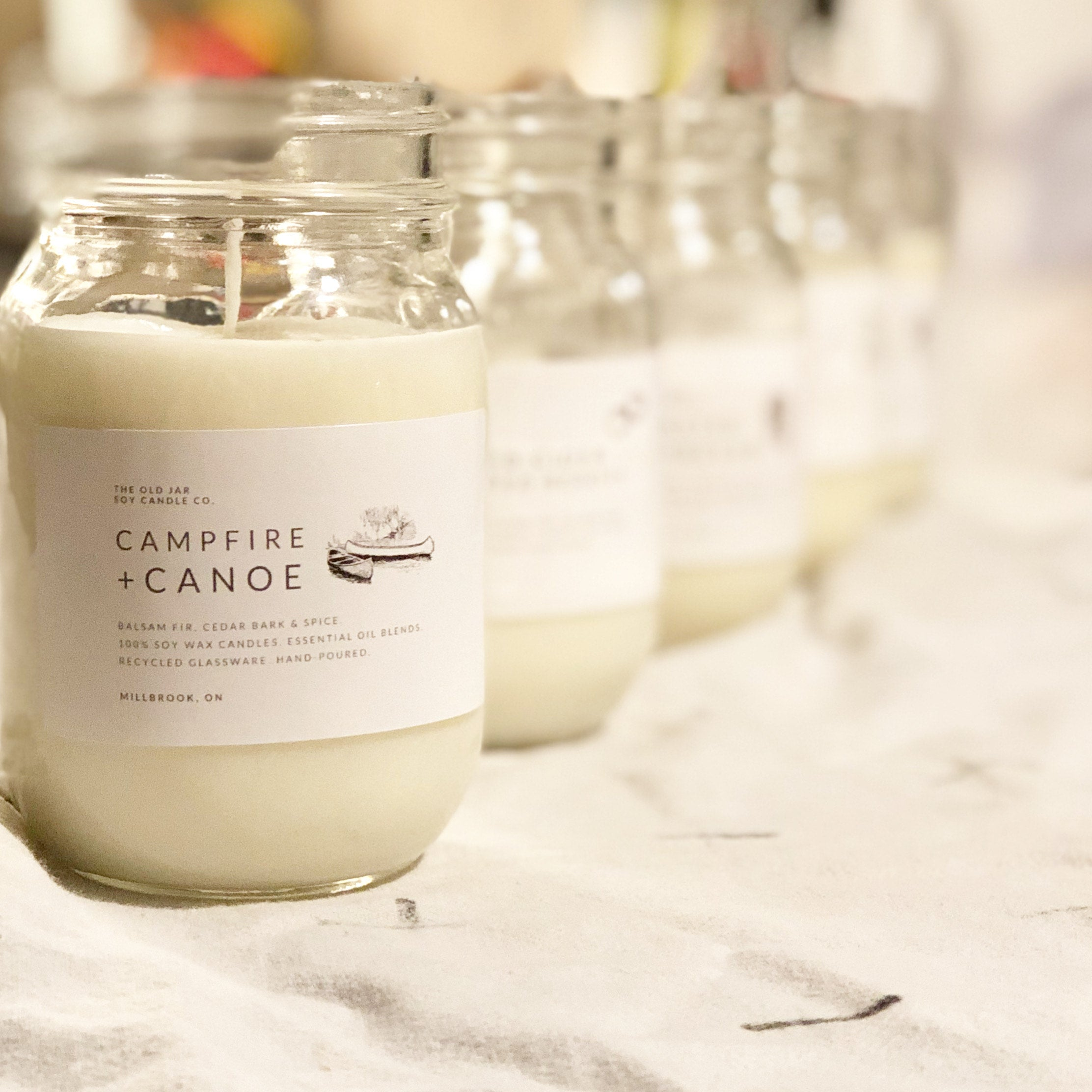 Campfire + Canoe Soy Candle