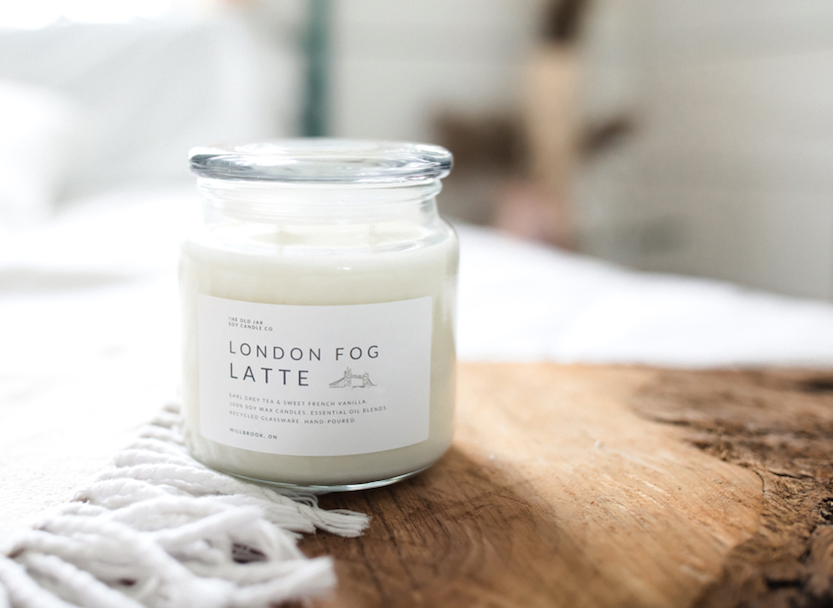 London Fog Latte Soy Candle