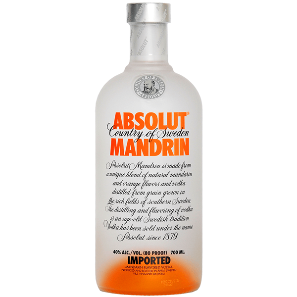 Absolut Vodka Mandarin 70cl