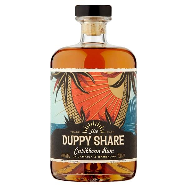 The Duppy Share Caribbean Rum 70cl