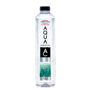 AQUA Carpatica Natural Still Mineral Water 1.5L