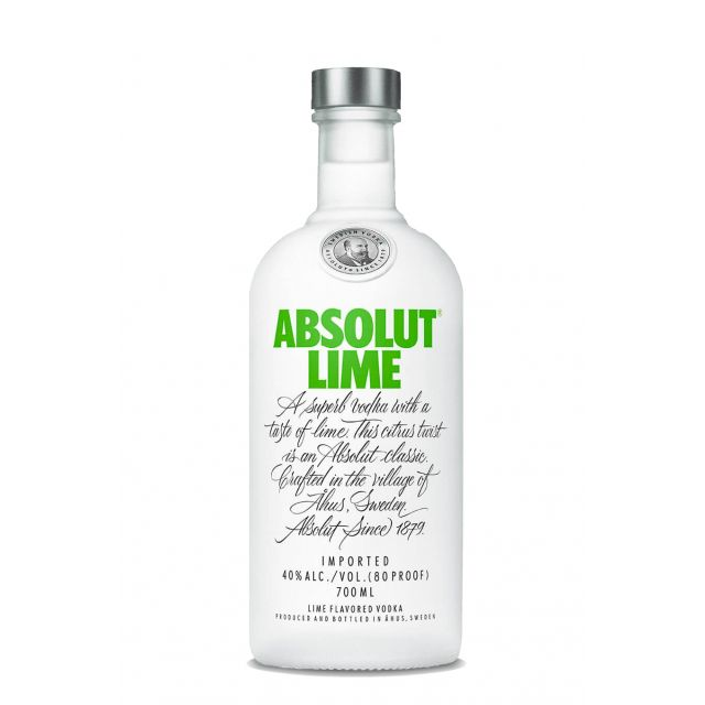 Absolut Vodka Lime Vodka 70cl