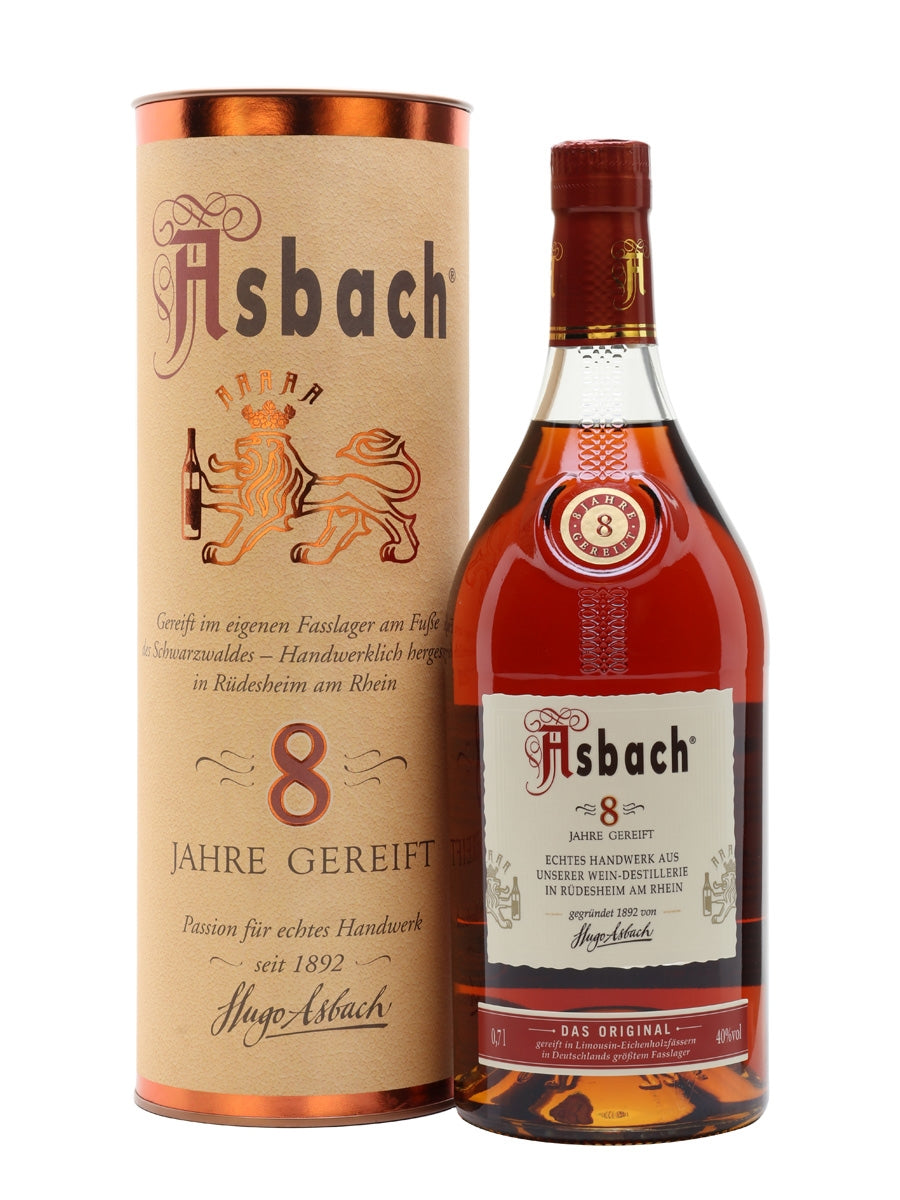 Asbach 8 Years Old Brandy 70cl