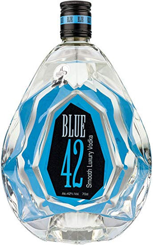 Blue 42 Luxury Vodka 70cl
