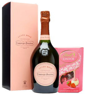 Champagne & Chocolate Pink Gift Set