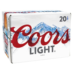 Coors Light Premium Lager 20 x 330ml Bottles