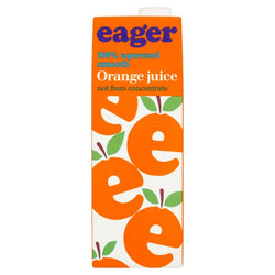 Eager 100% Orange Juice 1L
