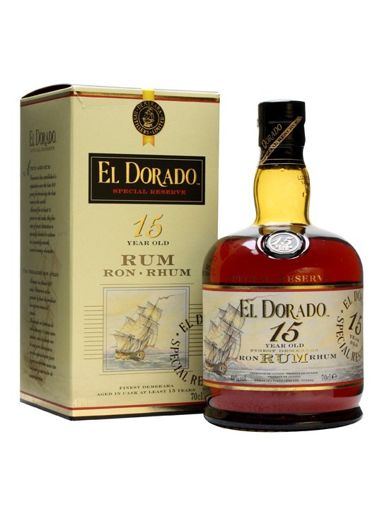 El Dorado 15 Years Old Rum 70cl