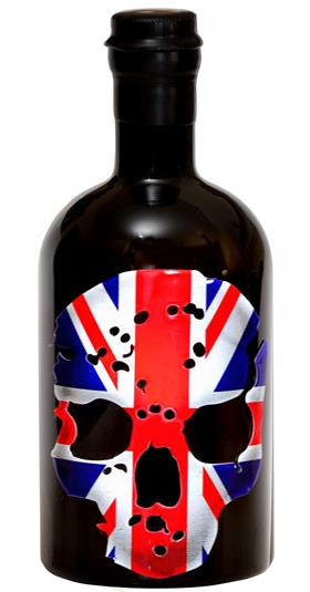 Ghost Vodka Union Jack Skull 70cl