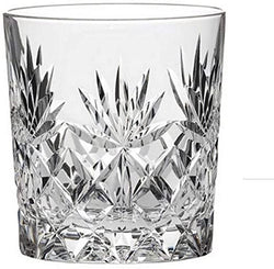 Crystal 11oz Cut Crystal Whisky Tumbler Glass