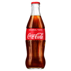 Coca Cola Glass Bottle 330ml