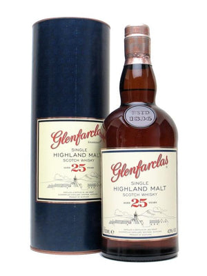 Glenfarclas 25 Years Old Single Malt Whisky 70cl