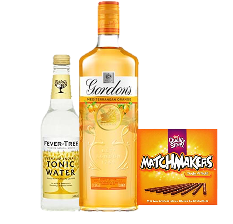 Gordons Orange Gift Set