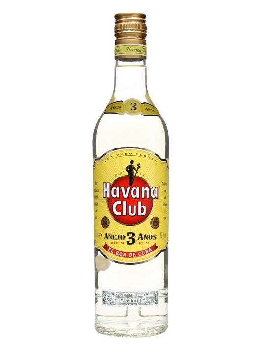 Havana Club Anejo 3 Year Old Rum 70cl