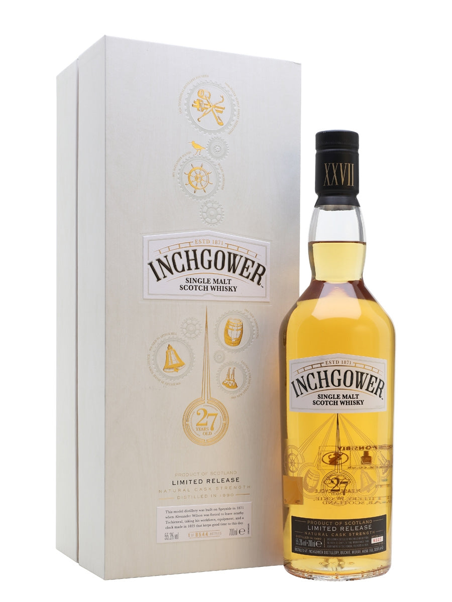 Inchgower 27-Year-Old Malt Whisky – 2018 Release
