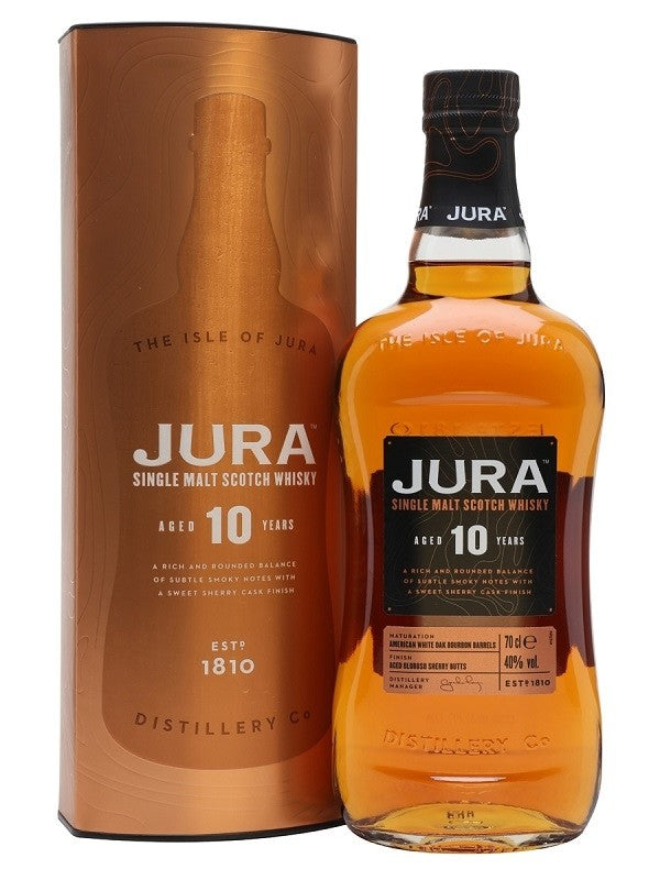 Isle of Jura 10-Year-Old Malt Whisky 70cl