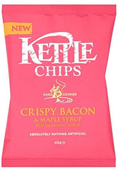 Kettle Chips Crispy Bacon & Maple Syrup 40g