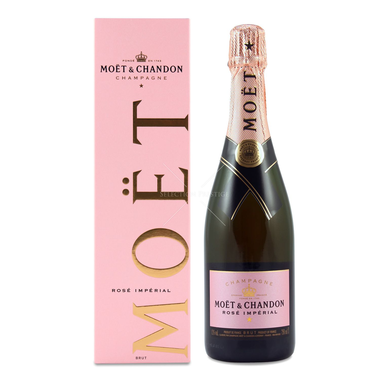 Moet & Chandon Rose Champagne 75cl