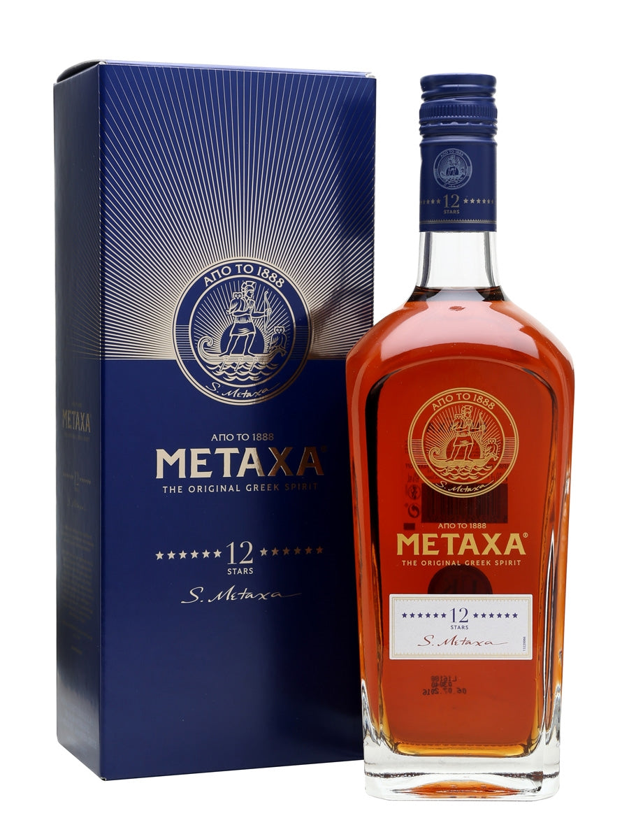 Metaxa 12 Star Brandy 70cl
