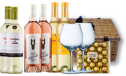 White & Rose Wine Selection Hamper