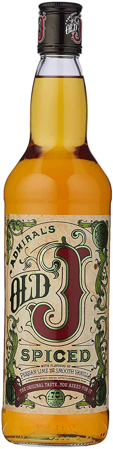 Old J Spiced Rum The Original 70cl