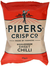 Pipers Biggleswade Sweet Chilli Crisps 40g