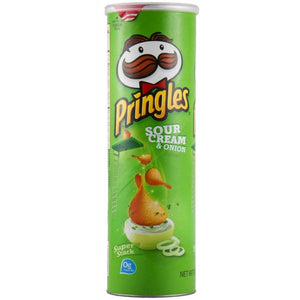 Pringles Sour Cream & Onion Crisps 190g