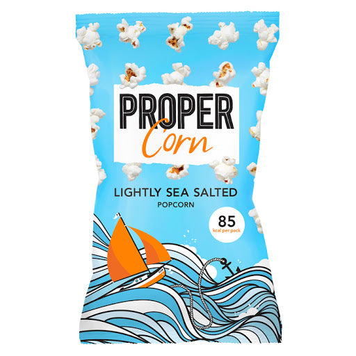 Propercorn Lightly Sea Salted Popcorn 80g