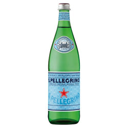 San Pellegrino Sparkling Natural Mineral Water Glass 750ml