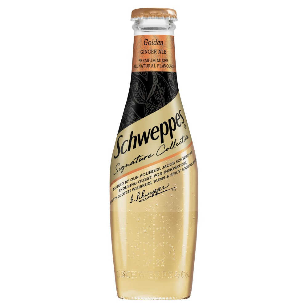 Schweppes Signature Collection Golden Ginger Ale 200ml