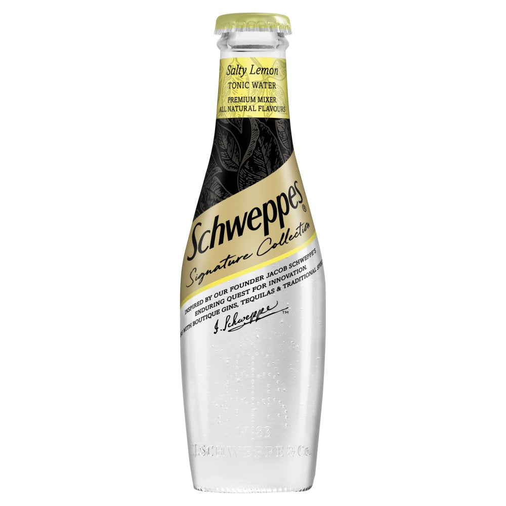 Schweppes Signature Collection Salty Lemon Tonic Water 200ml