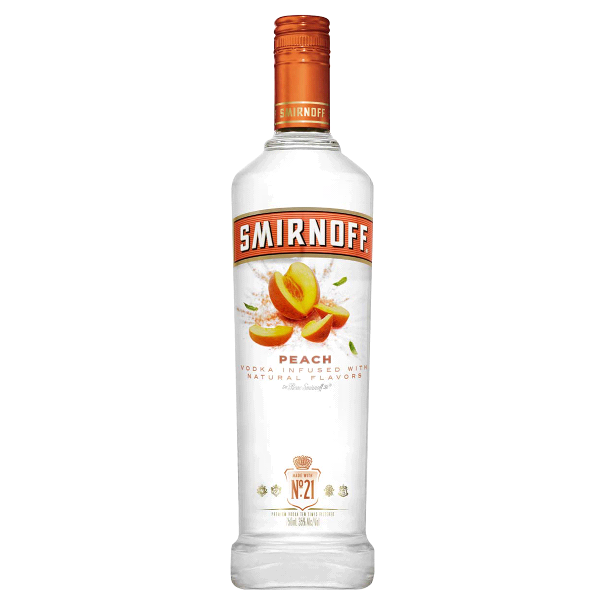 Smirnoff Peach Vodka 75cl