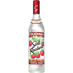 Stolichnaya Raspberry Vodka 70cl