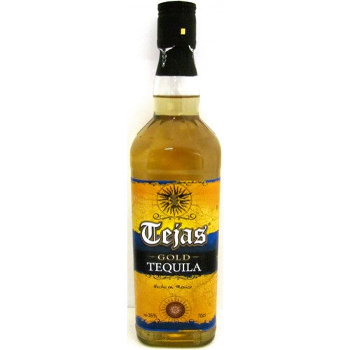 Tejas Tequila Gold 35% 70cl