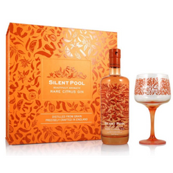 Silent Pool Rare Citrus Gin & Gin Copa Glass Giftset