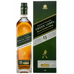 Johnnie Walker Green Label Blended Scotch Whisky 70cl