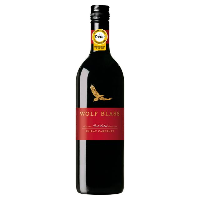 Wolf Blass Red Label Shiraz Cabernet 75cl