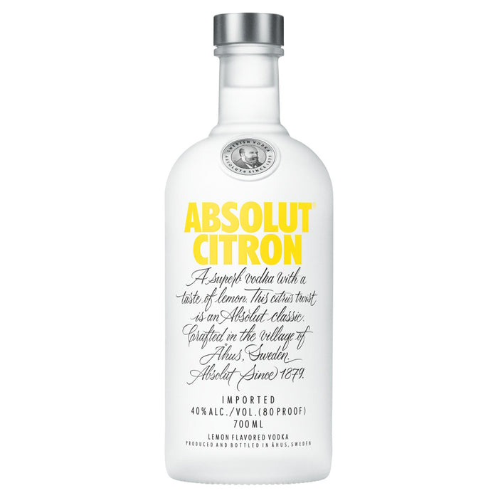 Absolut Vodka Citron 70cl